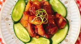 Hình ảnh món Thịt Heo Một Nắng Sốt Mắm Tỏi Ớt