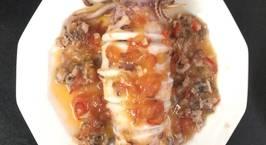 Hình ảnh món Mực nhồi thịt sốt cà