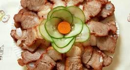 Hình ảnh món Thịt Xá Xíu Nấu Bằng Nồi Cơm Điện