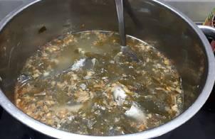 Cá kèo nấu lá giang
