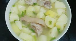Hình ảnh món Canh khoai tây giò heo