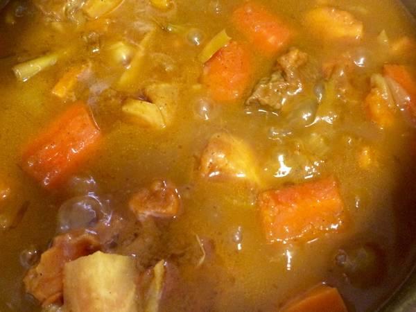 Bò kho khoai lang