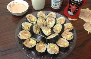 Kimbab kimchi