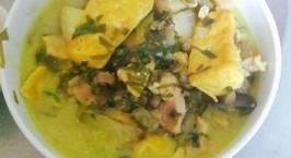 Hình ảnh món Cà tím om đậu phụ thịt heo