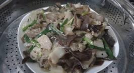 Hình ảnh món Cá hấp với thịt heo,mộc nhĩ