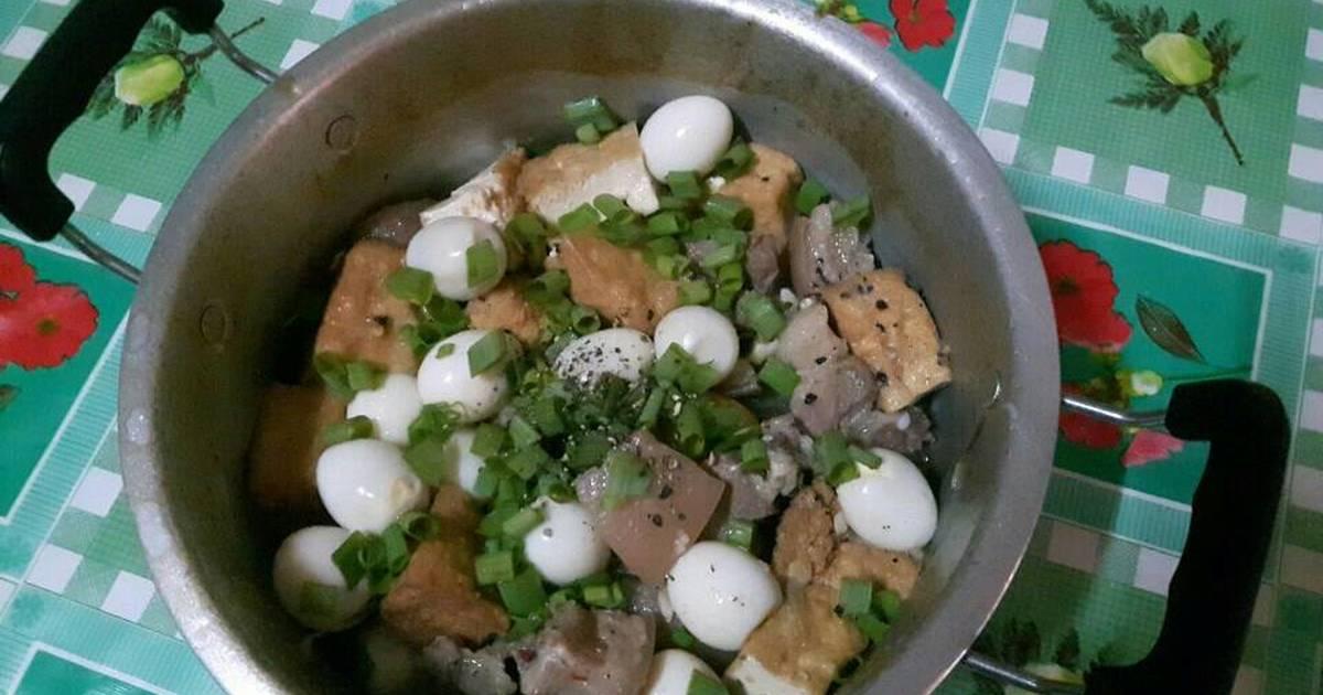 Thịt kho nước dừa, đậu hủ, trứng cút