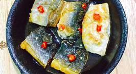 Hình ảnh món Khô cá dứa một nắng chiên giấm đường