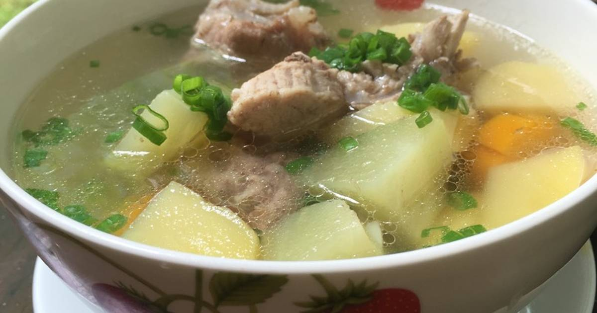Soup Carot Khoai Tây