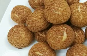 Bánh su vỏ xù vị chocolate - Craquelin choux chocolate