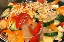 Salat Thập cẩm với phô mai Hy Lạp