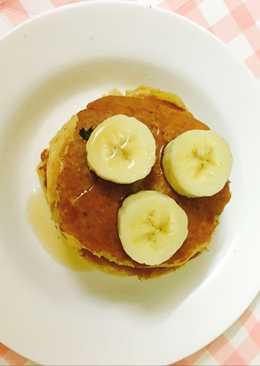 Bánh kếp yến mạch cho bữa sáng