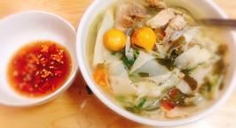 Hình ảnh món Gà nấu măng chua lá giang