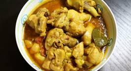 Hình ảnh món Cà ri gà Ấn (chicken curry)