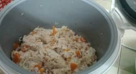 Hình ảnh món Cơm với cá ngừ đóng hộp