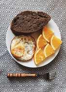 Eatclean: ăn sáng với trứng gà và bánh mì đen