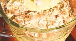 Hình ảnh món Eat clean- sữa chua bơ chuối yến mạch- bữa sáng nhanh gọn giàu dinh dưỡng