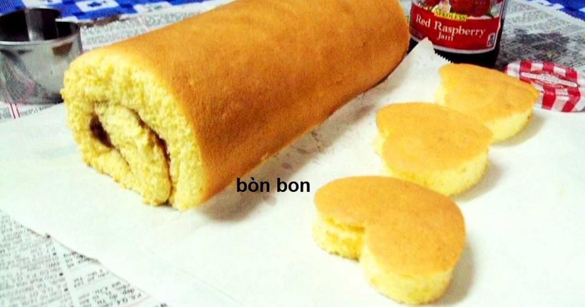 Bánh Bông Lan cuộn Mứt trái cây