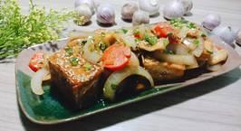 Hình ảnh món ĐẬU HỦ XÀO RAU CỦ SỐT TERIYAKI (Teriyaki tofu to yasai)