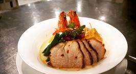 Hình ảnh món Laksa singapore (mì hải sản singapore)