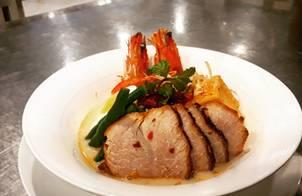 Laksa singapore (mì hải sản singapore)
