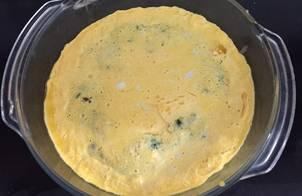 Trứng hấp thịt nấm