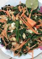 Nộm rau muống cà rốt