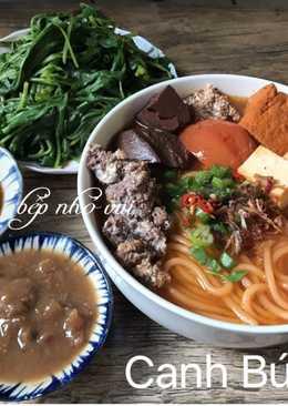Canh Bún Cua Đồng