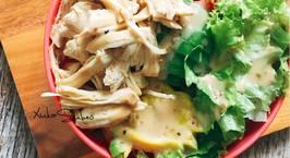 Hình ảnh món Eat clean- Salad thịt gà