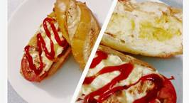Hình ảnh món Bánh mì nướng cho bữa sáng nhanh gọn lẹ
