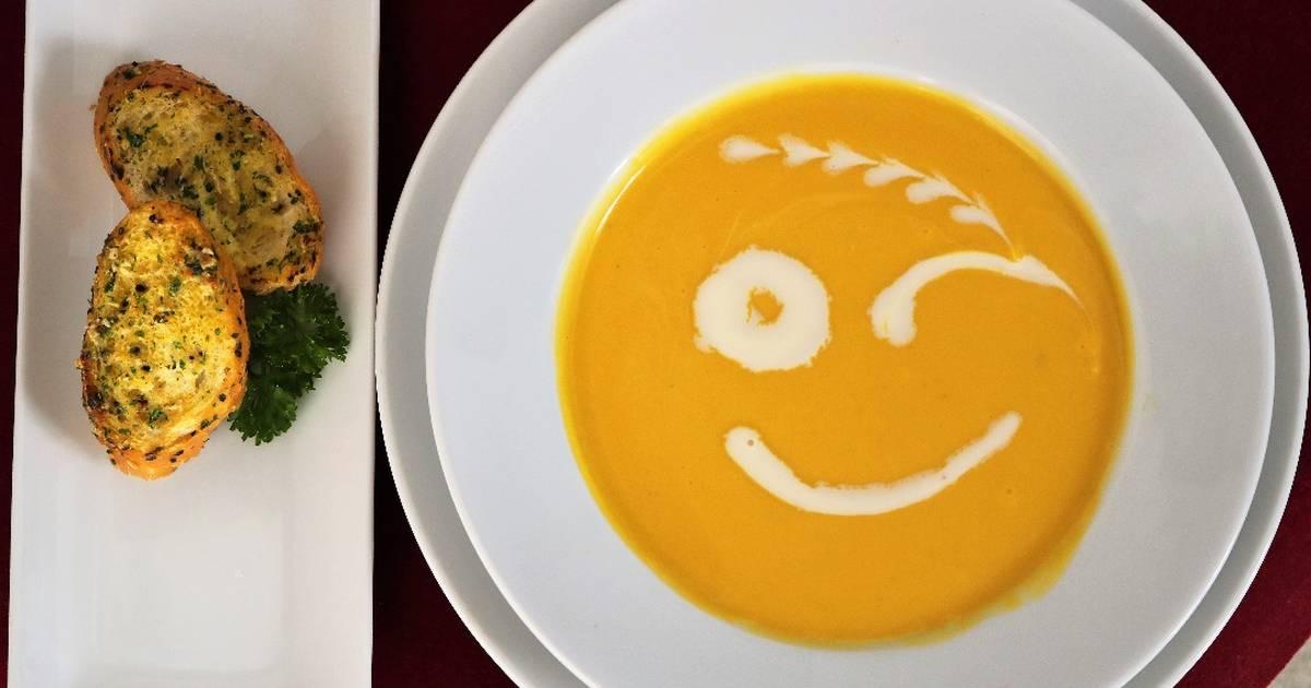 Pumpkin Soup (Súp Bí Đỏ) Dành cho các bà mẹ bỉm sữa