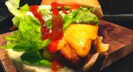 Hình ảnh món Burger homemade ?