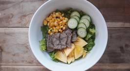 Hình ảnh món Salad bò