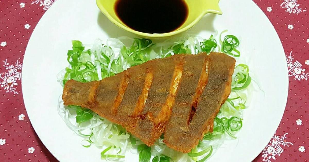 Cá bơn chiên giòn 가자미튀김