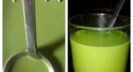 Hình ảnh món Mát lạnh trà sữa Thái xanh ~.~