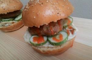 Bánh Hamburger đơn giản