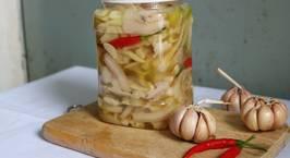 Hình ảnh món Tai heo ngâm giấm chua ngọt