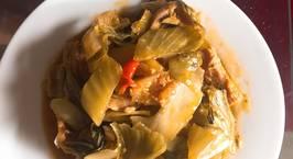 Hình ảnh món Cá ngừ đại dương kho dưa chua