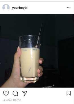 Trà sữa làm bằng lipton