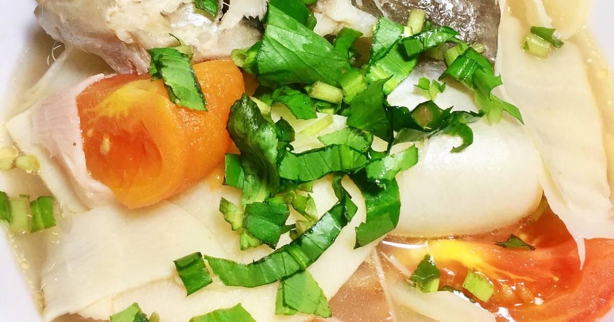 Canh Cá Hú Nấu Măng Chua