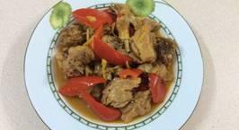 Hình ảnh món Đùi vịt làm gì với nước dừa Ba Tri?