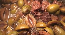 Hình ảnh món Thịt kho trám xanh
