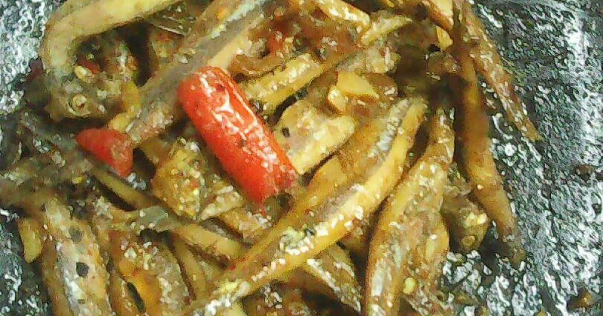 Cá cơm kho khô
