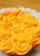 Bánh Bông Lan Kem Bơ Syrup Cam