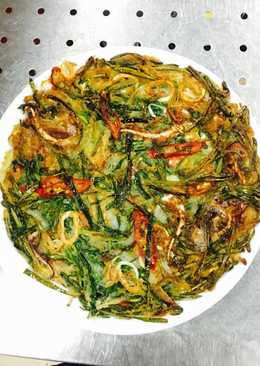 Bánh hẹ hải sản Hàn Quốc