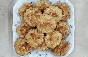Bánh yến mạch bơ đậu phộng