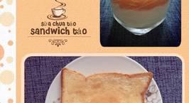 Hình ảnh món Sữa chua táo & sandwich mứt táo