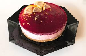 Cheese cake cherry