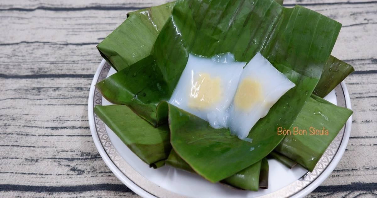 Bánh Đậu Xanh Lạnh (Mung Bean Jelly)