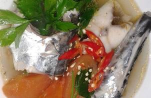 Cá Thu Nấu Ngót