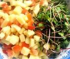Ảnh đại đại diện món #eatclean - Salad Rau Mầm Hoa Quả Thập Cẩm
